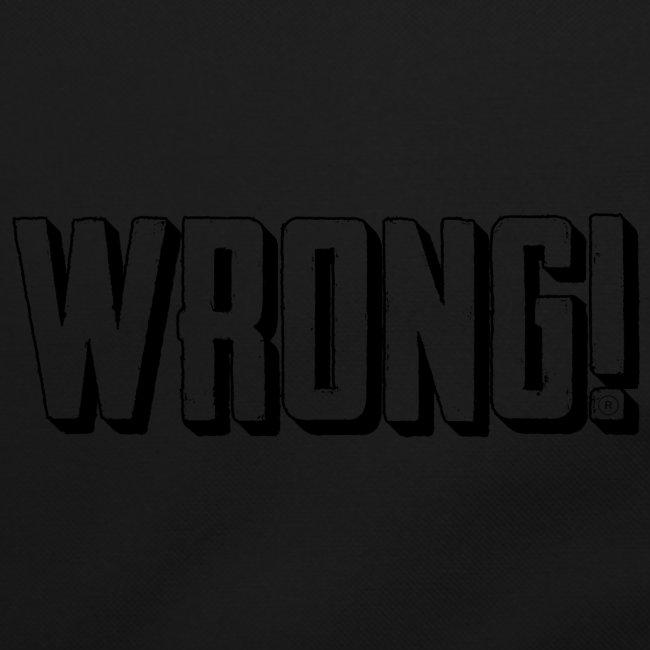 wrong logo
