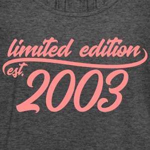 Limited edition est 2003 - Women's Tank Top by Bella