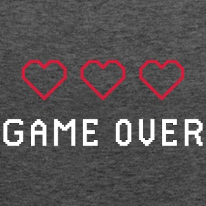 GAME OVER RETRO - Tank top damski Bella