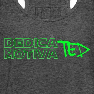 Motiviert & green Dedicated - Frauen Tank Top von Bella