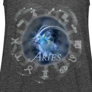 aries Capricorn zodiac sign horoscope image - Women's Tank Top by Bella