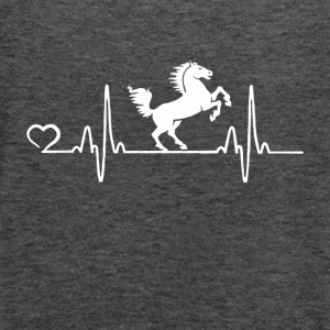 Horse - Heartbeat - Women's Tank Top by Bella