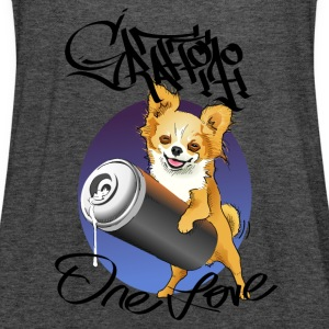 Chihuahua graffiti one love - Dame tanktop fra Bella