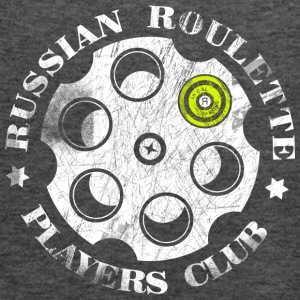 Russian Roulette Players Club - Tank top damski Bella