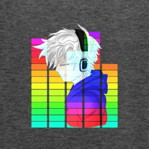 Electronic Music - Anime Guy - Singlet for kvinner fra Bella