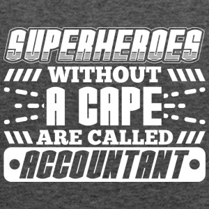 SUPERHEROES ACCOUNTANT - Women's Tank Top by Bella