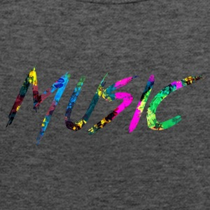 rainbow Music - Singlet for kvinner fra Bella