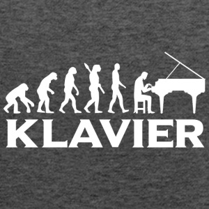 Evolution Klavier Piano wt - Frauen Tank Top von Bella