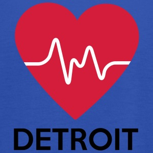 Heart Detroit - Women's Tank Top by Bella