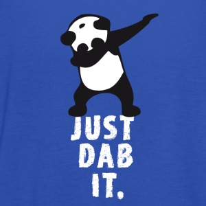 dab just panda dabbing dub dance cool LOL funny - Women's Tank Top by Bella
