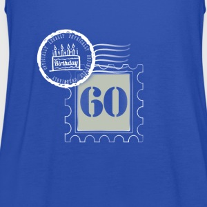 60th birthday 60 years congratulatory gift tag - Women's Tank Top by Bella