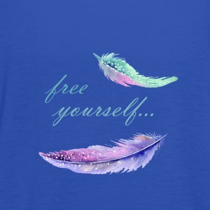 free yourself - Frauen Tank Top von Bella