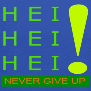 never give up - Top da donna della marca Bella