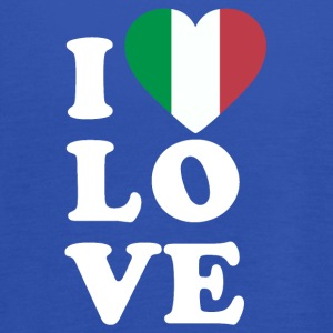 I love Italy - Women's Tank Top by Bella