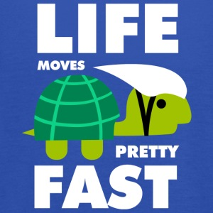 Life moves pretty fast - Women's Tank Top by Bella