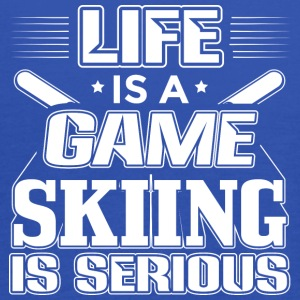 Skiing Life Is A Game - Ski Shirt - Women's Tank Top by Bella