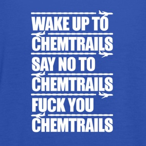 Say No to Chemtrails - Women's Tank Top by Bella