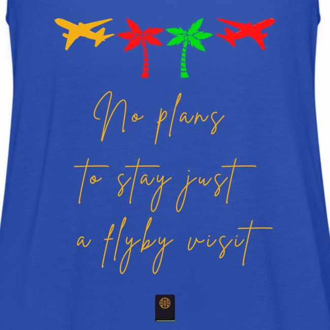 Colourful Holiday travel t shirts flight clothes