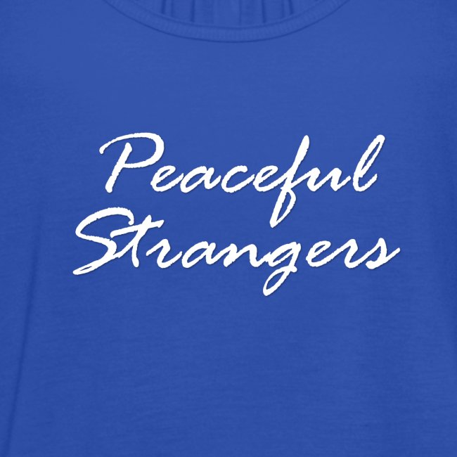 Peaceful Strangers print