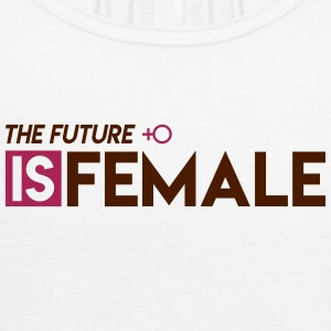 The Future is Female - Vrouwen tank top van Bella