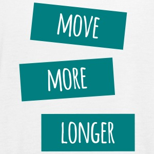 Move more longer - Women's Tank Top by Bella