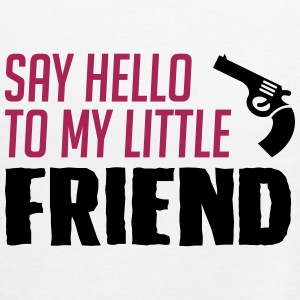Funny my little friend is gun - Women's Tank Top by Bella