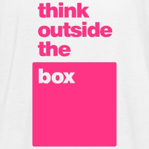 Think Outside the Box - Women's Tank Top by Bella
