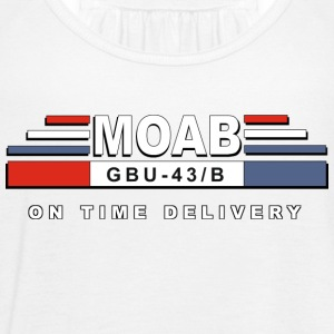 MOAB - moeder van alle bommen (Mother Of All Bombs) - Vrouwen tank top van Bella