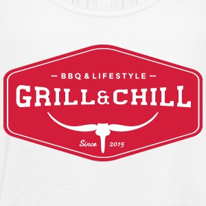Grill and Chill / barbecue e Lifestyle marchio di origine - Top da donna della marca Bella