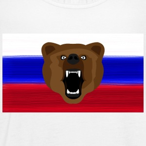 Russian Bear / Russia / Россия, Rossia, flag - Women's Tank Top by Bella