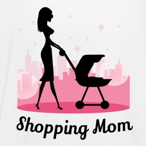 Shopping Mom - Women's Tank Top by Bella