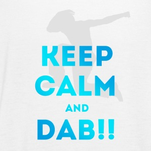 keep calm and dab dance arm above - Women's Tank Top by Bella