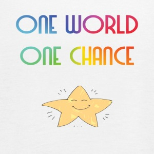One World One Chance - Dame tanktop fra Bella