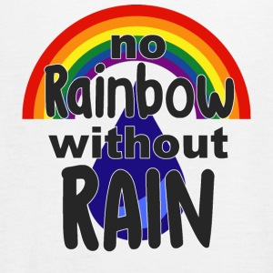 No Rainbow without Rain - Women's Tank Top by Bella