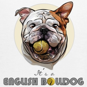 ENGLISH BULLDOG balldog - Women's Tank Top by Bella