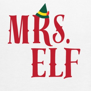 CHRISTMAS -ELF - MOM - Vrouwen tank top van Bella