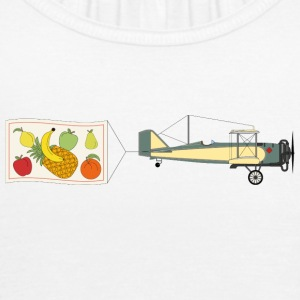 vintage Airplane - Tank top damski Bella