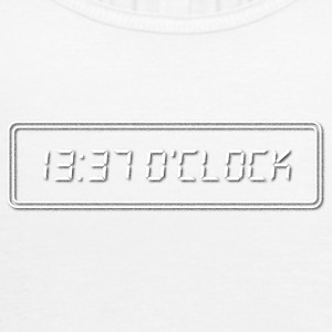 1337 O Clock White - Women's Tank Top by Bella