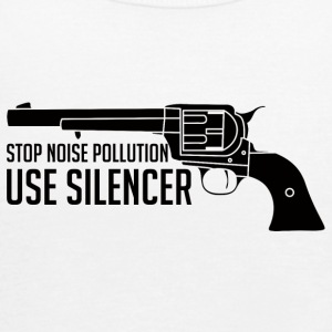 Military / Soldiers: Stop Noise Pollution, Use - Women's Tank Top by Bella