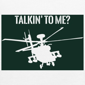 Military / Soldiers: Talkin' to me? - Women's Tank Top by Bella