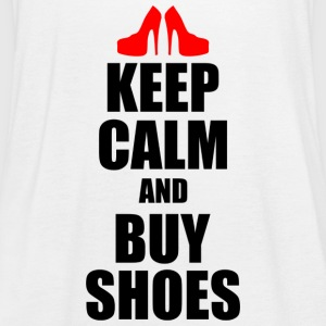 keep calm and buy shoes - Women's Tank Top by Bella