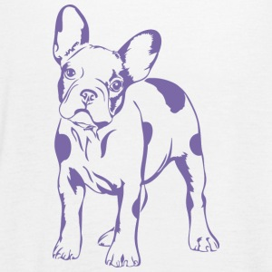 French Bulldog - bulldog francese SWEET - Top da donna della marca Bella