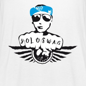 SWAG gangster gate Tatoo biker musikk kult moro bl - Singlet for kvinner fra Bella