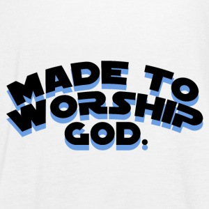 Made To Worship - Camiseta de tirantes mujer, de Bella