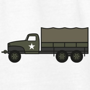 US Army 2 1-2 ton Truck - Women's Tank Top by Bella