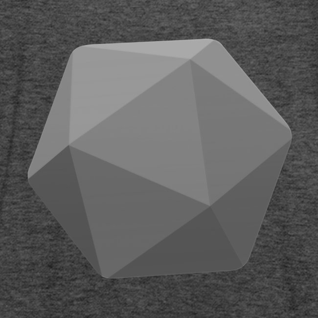 Grey d20 - D&D Dungeons and dragons dnd