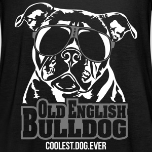 OLD ENGLISH BULLDOG coolest dog - Women's Tank Top by Bella