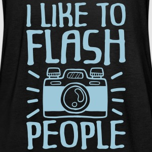 I Like to Flash People photographer - Frauen Tank Top von Bella