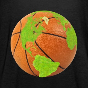 basketball earth planet globe erde globus - Frauen Tank Top von Bella