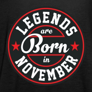 Legends born born birthday gift Gebu - Women's Tank Top by Bella